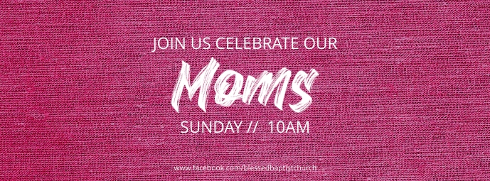 mother's day service Zdjęcie w tle na Facebooka template