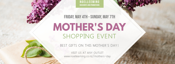 Mother's Day Shopping Event Facebook Cover Photo