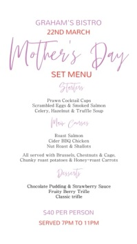 Mother's Day Special Digital Menu Template Umbukiso Wedijithali (9:16)