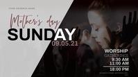 mother's day Sunday Church Event Template Уменьшенное изображение YouTube