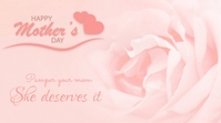 Mother's Day Template YouTube-Kanal-Coverfoto
