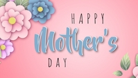 Mother's day template Nagłowek bloga