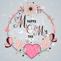 Mother's Day Template Kwadrat (1:1)