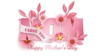 Mother's Day Template Foto Sampul Saluran YouTube