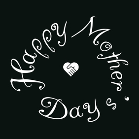 Mother's Day Together Greeting Template