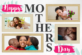 Mother's Day Wish Collage Poster template
