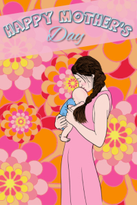 mother's day/women's day/mama/madres/baby