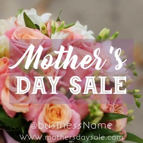 Mother's Day sale Instagram promotion