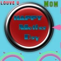 mother day Publicação no Instagram template