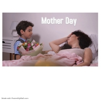 MOTHER DAY Okładka albumu template
