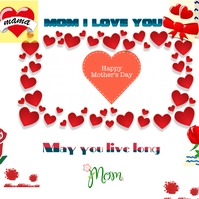 mother day Logotyp template