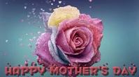 Mother Day Digital Display Video Umbukiso Wedijithali (16:9) template