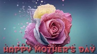 Mother Day Digital Display Video template