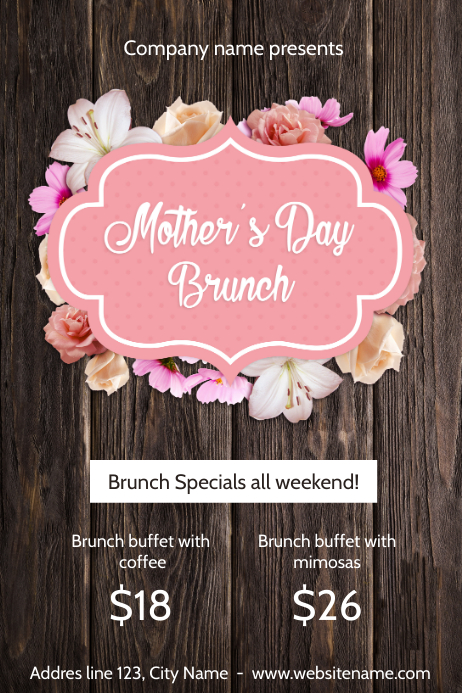 Copy of Mother's day brunch | PosterMyWall