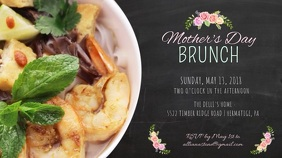 Mother's Day Brunch Video Template