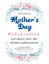 Mother's Day Celebration Flyer