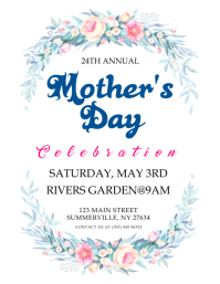 Mother's Day Celebration Flyer