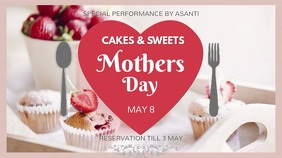 Mother's Day Desserts Discount Video Template