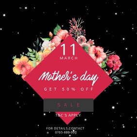 Mother's Day Discount Instagram Video Template