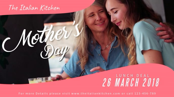Mother's Day Lunch Deal Video Template