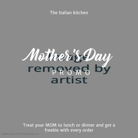 Mother's Day Promo Instagram Template