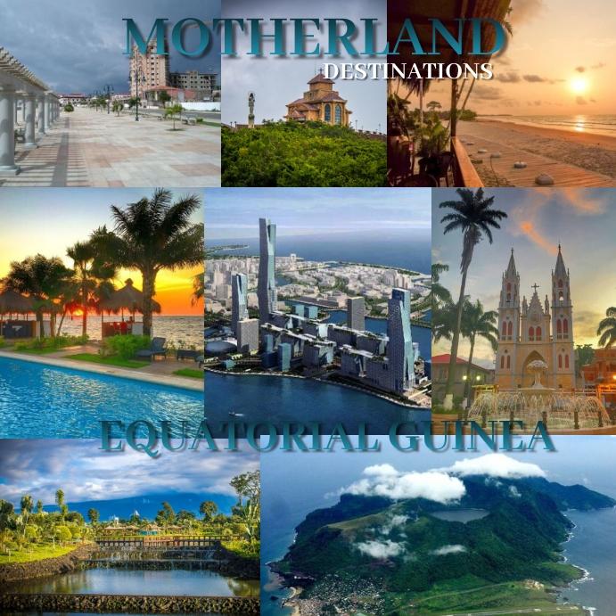 Motherland destinations- Equatorial Guinea template