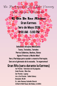 mothers day flyer-spanish