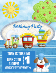Choo Choo Birthday Party