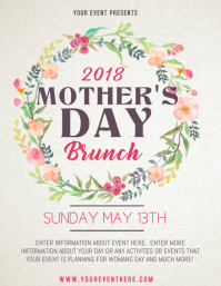 4940 Customizable Design Templates For Mothers Day Brunch Flyer