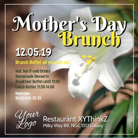 Mothers Day Brunch Buffet Breakfast Event