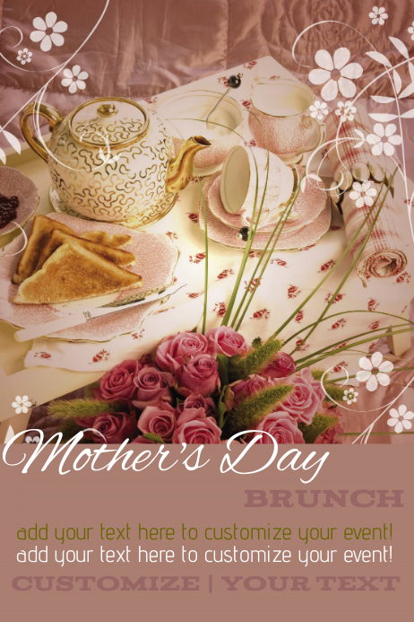 Image Result For Mothers Day Brunch Template