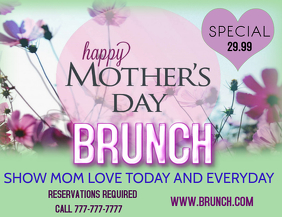 MOTHERS DAY BRUNCH MOTHERS DAY