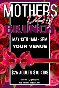 Mothers Day Brunch Poster