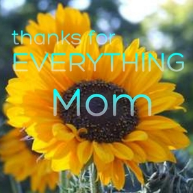 mothers day card Pos Instagram template