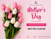 MOTHERS DAY Flyer (format US Letter) template