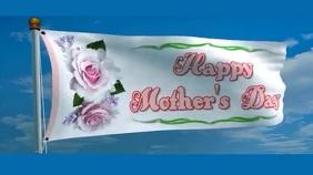 mothers day งานแสดงผลงานแบบดิจิทัล (16:9) template