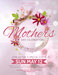 MOTHERS DAY Flyer (US-Letter) template