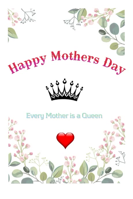 Mothers Day Pinterest na Graphic template