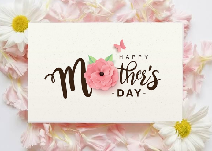 Mothers day Postcard template