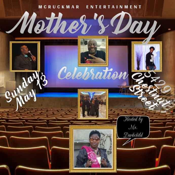 Mothers Day Event Vierkant (1:1) template