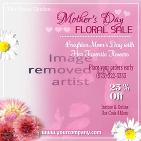 Mothers Day Floral Sale Video