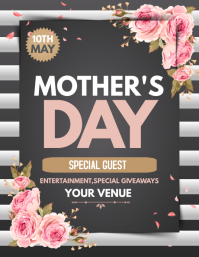 Mothers day flyer,event flyer,