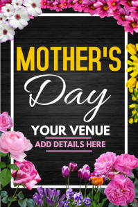 mothers day flyer ,event flyer template