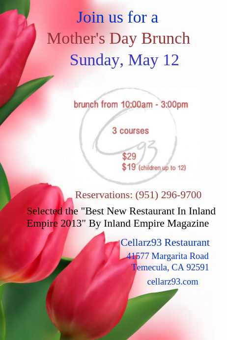 mother s day flyer template postermywall