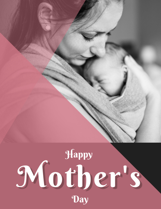 mothers day flyer templete