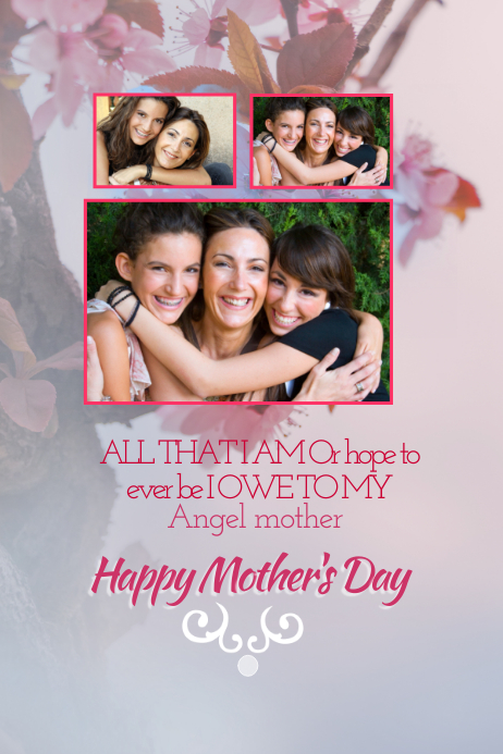 Mother's Day Poster Templates | PosterMyWall