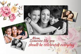 Mother\'s Day Gift Collage Template