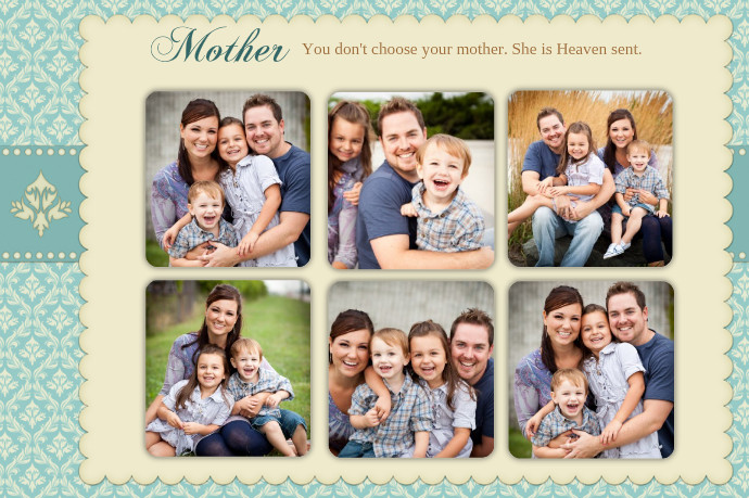 mother s day photo collage template postermywall