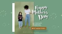 mothers day header celebration template Digitale display (16:9)