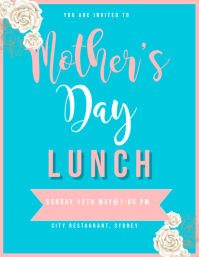 MOTHERS DAY LUNCH INVITATION